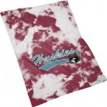 Spectrum Sublimation  Huskies Grunge Rally Towel