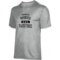 Spectrum Sublimation Men's Huskies Heather Poly Cotton Shirt