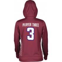 ProSphere Women's Huskies Geometric Hoodie Sweatshirt