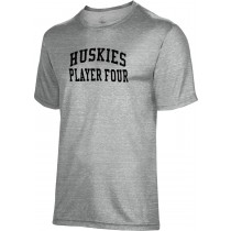 Spectrum Sublimation Men's Huskies Heather Poly Cotton Tee